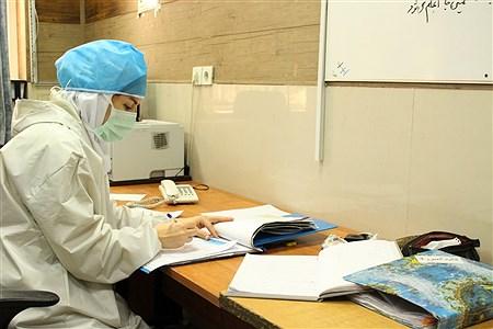پرستاران بخش عفونی بیمارستان رازی اهوازدر خط مقدم مبارزه با کرونا ویروس | Mohamad Shahrokh Nasab
