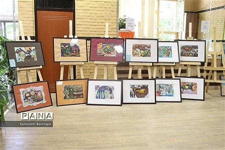 اختتامیه بیستمین جشنواره هنرهای تجسمی هنرستانهای کشور در تبریز  
