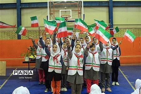 افتتاح المپیاد درون مدرسه ای دبستان منیر باسمنج  