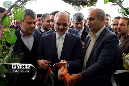 افتتاح دبیرستان مصلی نژاد، کانون بازنشستگان و کلینیک دندانپزشکی فرهنگیان توسط وزیرآموزش و پرورش در تبریز  