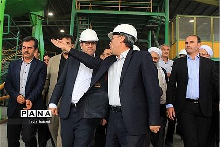 افتتاح کارخانه کنسانتره معدن مس انجرد در اهر  