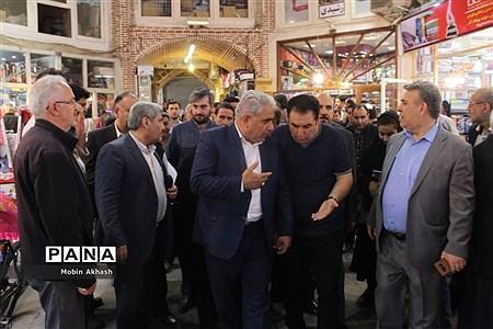 بازدید مدیران ارشد بیمه کشور و نماینده مردم تبریز، اسکو و آذرشهر از بازار تبریز  
