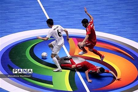 بازی دو تیم لبنان و قزاقستان فوتسال زیر 20 سال آسیا  