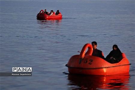 پر آب شدن دریاچه ارومیه در سال98  