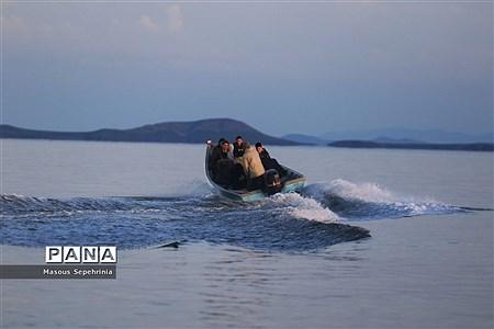 پر آب شدن دریاچه ارومیه در سال9800  