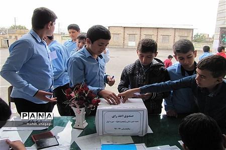 برگزاری بیست ودومین انتخابات شوراهای دانش آموزی مدارس منطقه میانه  
