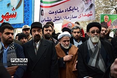 راهپیمایى ٢٢ بهمن در تبریز  