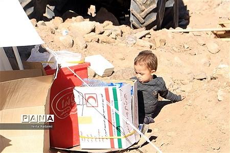 روستای ورنکش میانه 3 روز پس از زلزله  