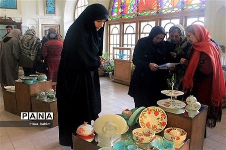 نمایشگاه شب چله در موزه زنده سفال تبریز  