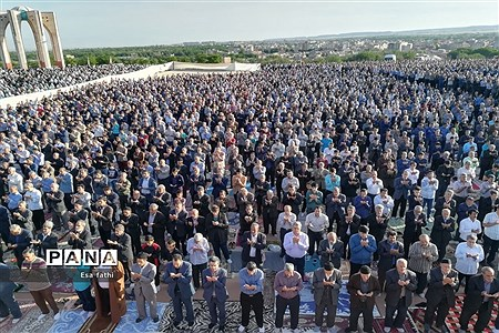نماز عید فطر شهرستان آذرشهر  