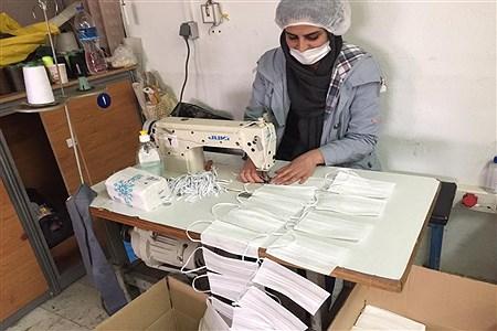 راه اندازی فاز اول تولید ماسک استاندارد  | Pana zanjan