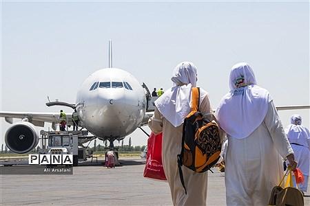 اعزام زائرین حج98 از آذربایجان غربی |