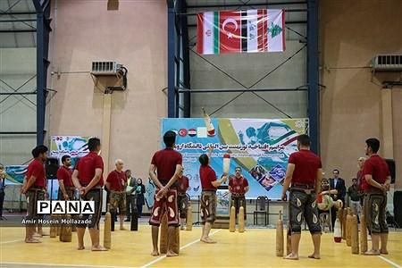 آئین افتتاحیه تورنومنت بین المللی دانشگاه ارومیه |