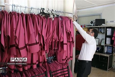 بازدید کارشناسان سازمان دانش آموزی و اتحادیه خیاطان از تولیدیهای همسان سازی پوشاک مدارس ارومیه |