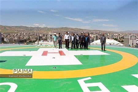 بازدید استاندار آذربایجان غربی از پروژه بیمارستان فوق تخصصی زنان ارومیه |