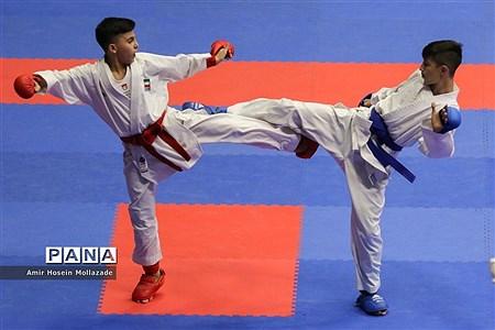 پانزدهمین دوره مسابقات بین المللی کاراته در ارومیه رده سنی نوجوانان |