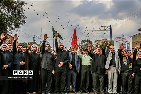 تجمع مردمی «لبیک یا حسین(ع)» در ارومیه |