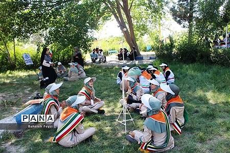 جشنواره استانی مهارتهای تشکیلاتی پیشتازان دخترسازمان دانشآموزی آذربایجان غربی در ارومیه |