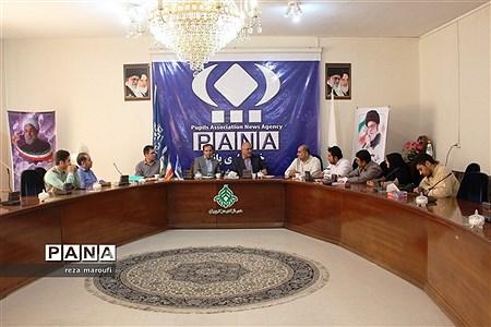 حضور مدیر کل آموزش و پرورش آذربایجان غربی در دفتر خبرگزاری پانا به مناسبت روز خبرنگار |