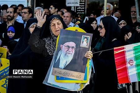 راهپیمایی روز جهانی قدس در ارومیه  |