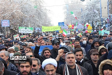 راهپیمایی 22 بهمن در ارومیه |