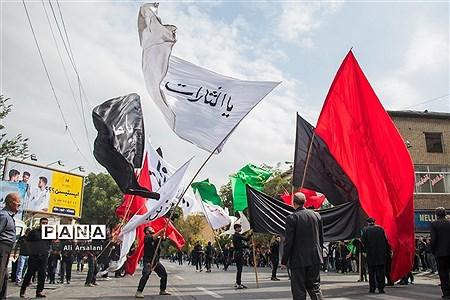 عزاداری خیابانی مردم ارومیه در تاسوعای حسینی |