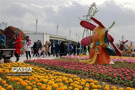 نهمین جشنواره گلها در ارومیه |