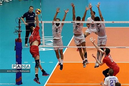 هفته سوم لیگ ملتهای والیبال  ایران 3 - 0 روسیه |