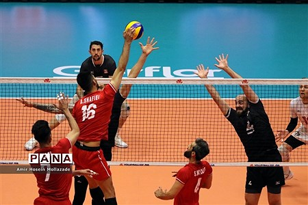 هفته سوم لیگ ملتهای والیبال ایران 3 - 0 کانادا |