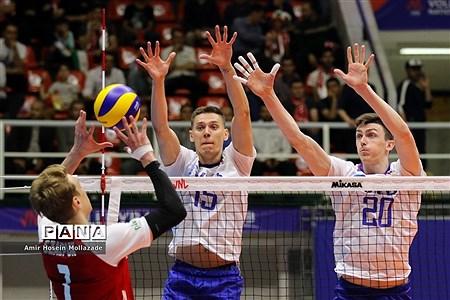 هفته سوم لیگ ملتهای والیبال  روسیه 3 - 1 لهستان |