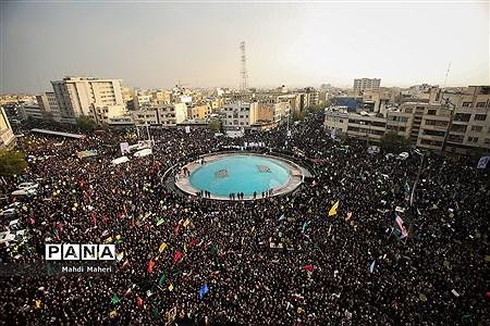 اجتماع مردم تهران در پی اعتراض به حوادث اخیر |
