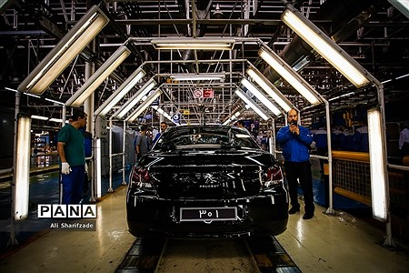 افتتاح خط تولید پژو 301 |