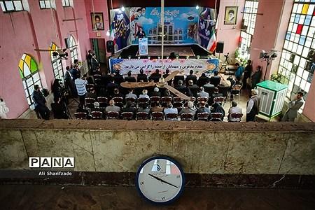 آغاز عملیات احیای مدرسه ماندگار شهید مدرس |