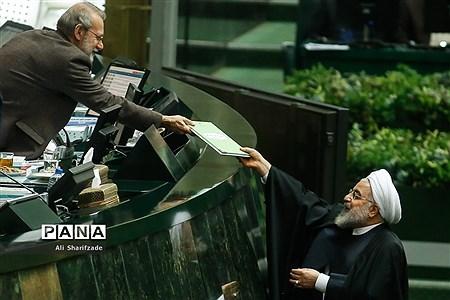 تقدیم لایحه بودجه ۹۹ به مجلس شورای اسلامی 2 |