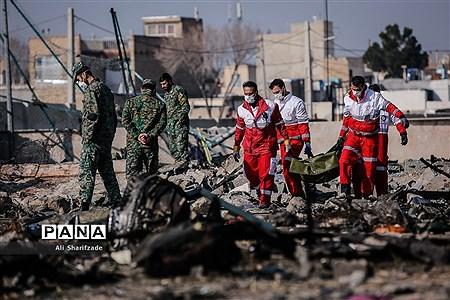 سقوط هواپیمای اوکراینی  |
