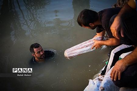 سیلزدگان خوزستان؛ مردمی که میخواهند با هم از بحران عبور کنند |