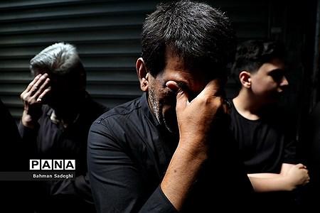 عزاداری تاسوعای حسینی در بازار تهران |