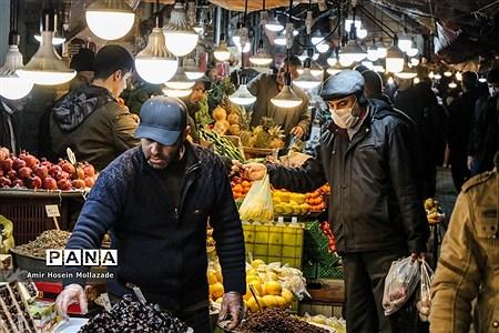 ماسک میهمان بازار شب عید |