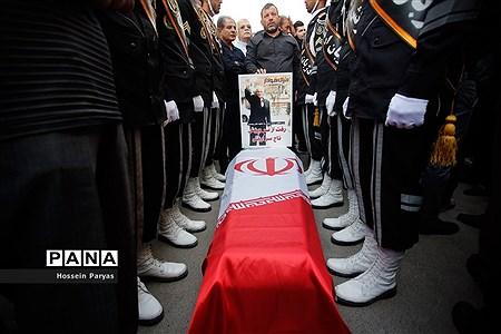 مراسم تشییع پیکر جعفر کاشانی، پیشکسوت فوتبال ایران |