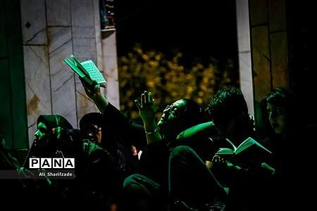 مراسم احیا شب نوزدهم ماه مبارک رمضان در مقبره الشهدای چیتگر |