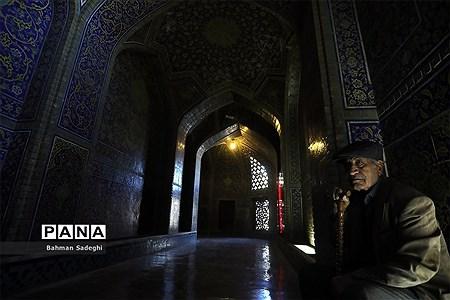 مسجد شیخ لطفالله میزبان گردشگران نوروزی |