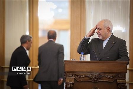 نشست خبری وزیر امور خارجه |