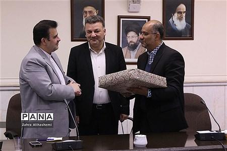 جلسه معاونان پرورشی مناطق نوزده گانه شهر تهران |