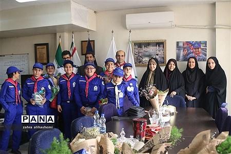قدردانی دانشآموزان پیشتاز از آموزش و پرورش شهر تهران |