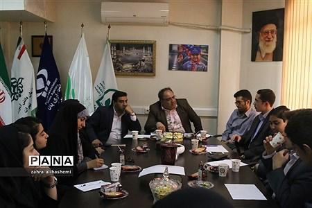 نشست فصلی مجلس دانشآموزی تهران |