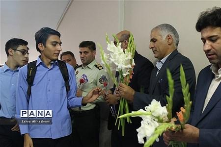 نواخته شدن زنگ سال تحصیلی جدید در دبیرستان شهید مفتح |