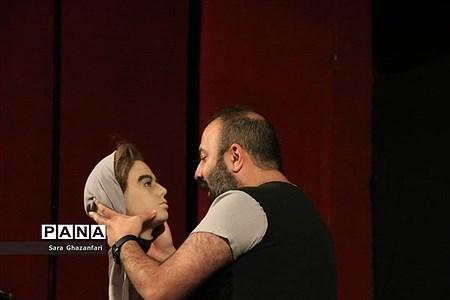 اجرای تئاتر لیگ قهرمانان در ساری |