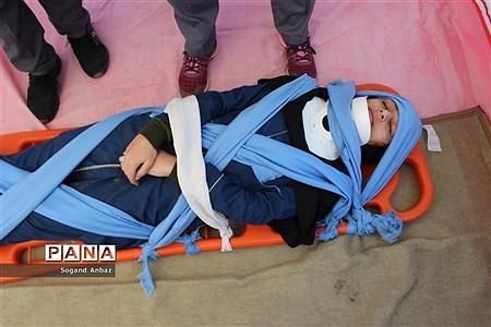 بیست و یکمین مانور زلزله و ایمنی در مرکز مازندران |
