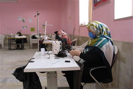 کارگاه جهادی تولید ماسک | MojtabaSahebzamani