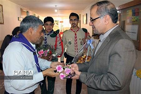 جشن سپاس معلم توسط پیشتازان سازمان دانش آموزی |